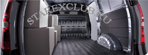 грузовой отсек Hyundai Grand Starex