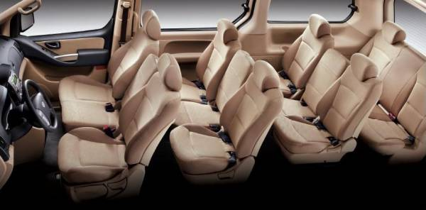 Hyundai Grand Starex салон 12 мест