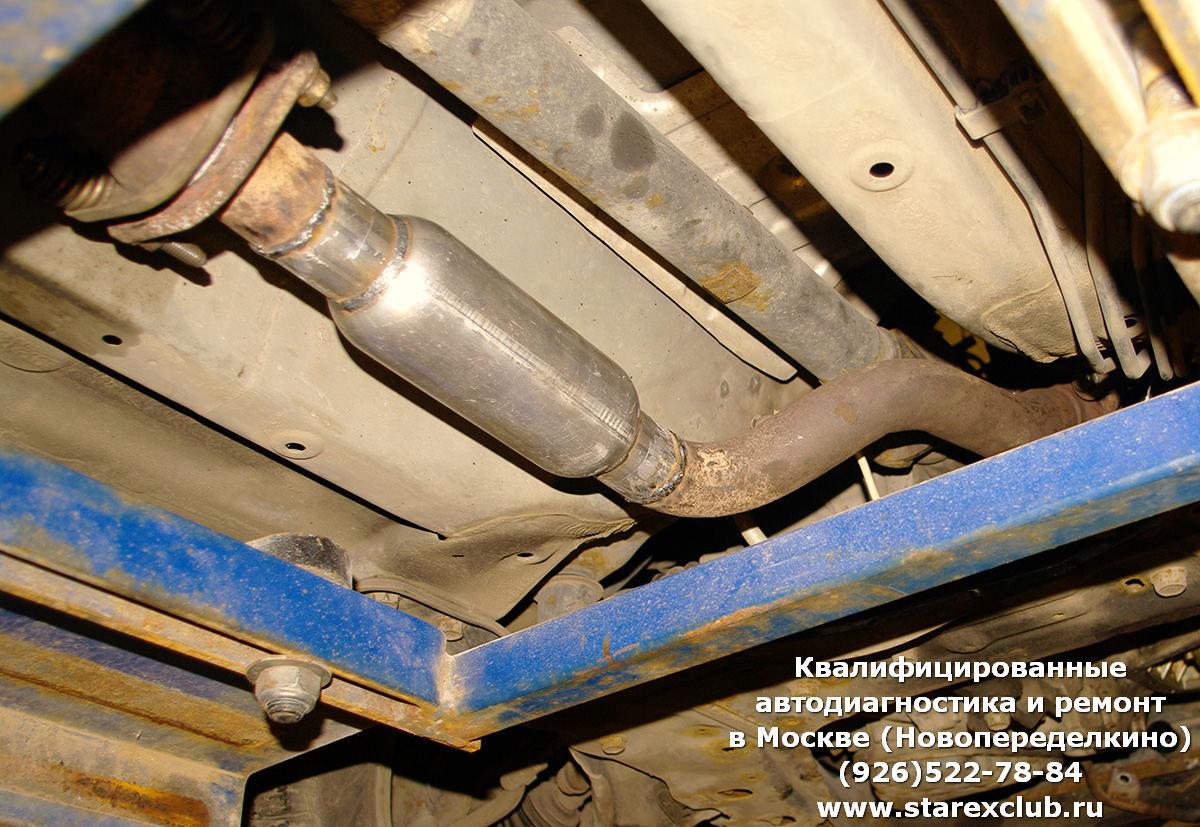 Ремонт Nissan X-TRAIL (Ниссан Икс-Трейл) в Москве, Новопеределкино