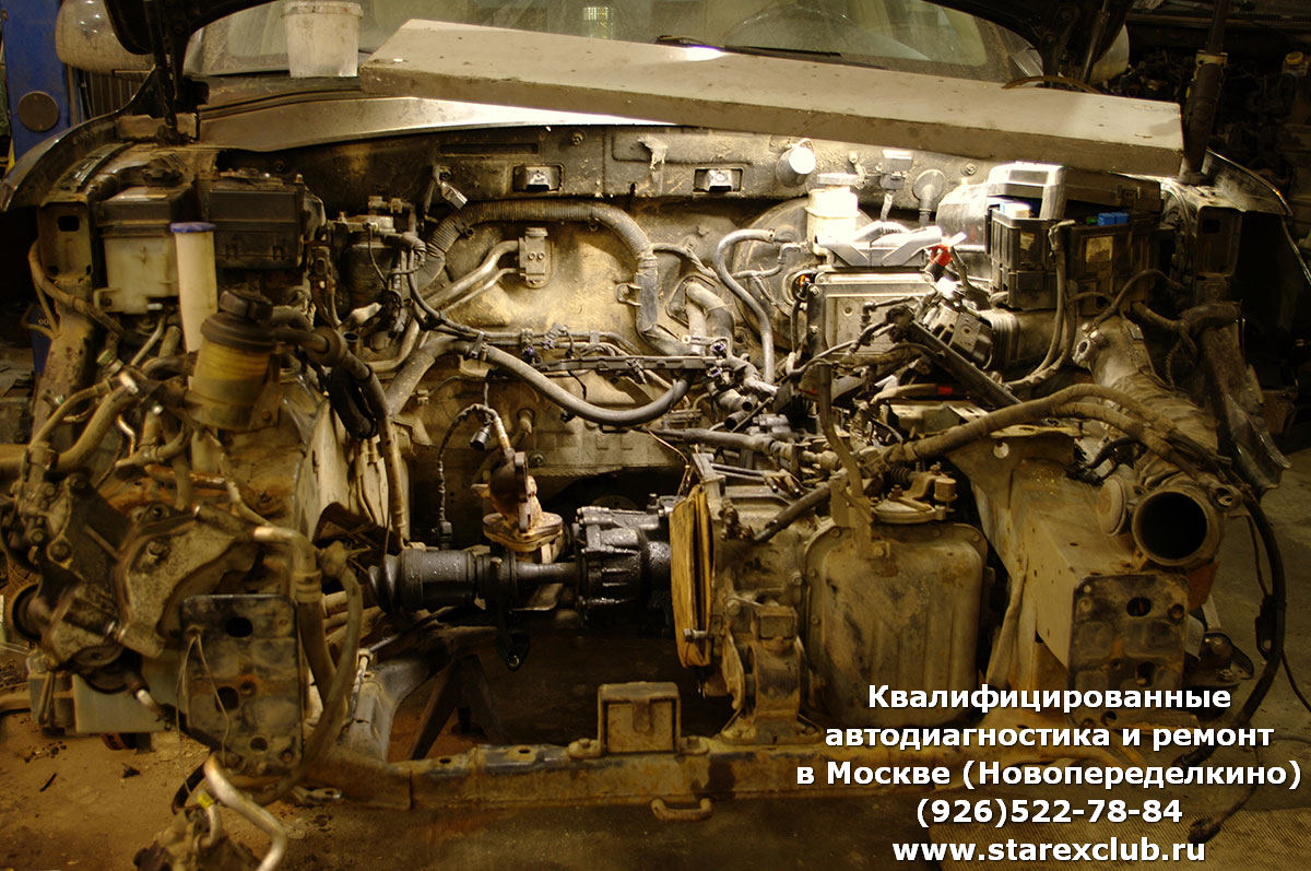 ремонт двигателя Санта Фе в Москве, Новопеределкино